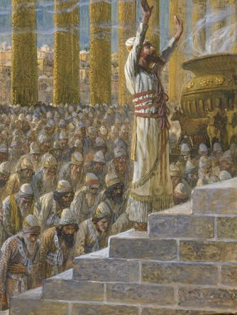 Tissot the Temple at Jerusalem